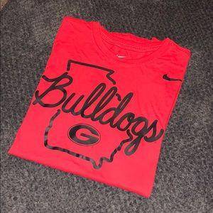 NIKE Georgia Bulldogs tee